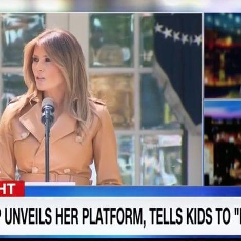 KNIVES OUT: CNN's April Ryan Says Melania Trump 'Not Culturally American'
