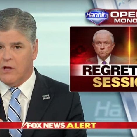HANNITY: Sessions Should UN-RECUSE Himself Immediately
