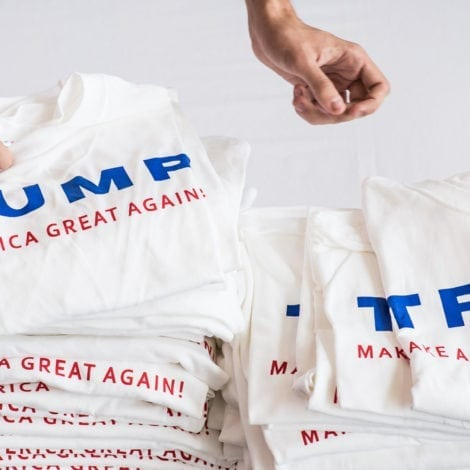 WEST COAST CHAOS: Oregon Student SUSPENDED for Pro-Trump Shirt