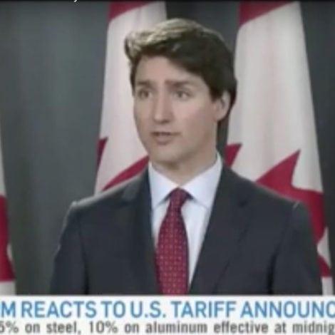 TRUDEAU TURNS: Trudeau Slams Trump's Tariffs, Retaliates with US TAX