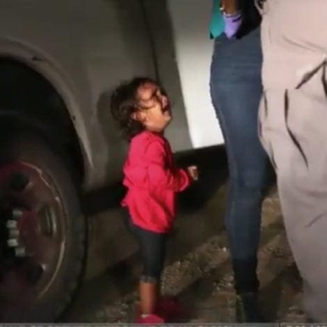 TIME OUT: Crying Girl on 'TIME' Cover 'NEVER SEPARATED' from Mother Says Border Agent