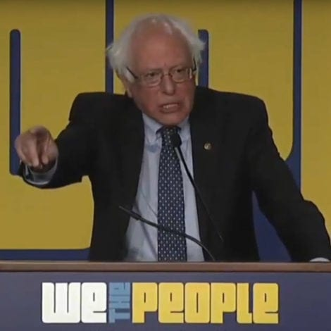 BERNIE GOES OFF: Sanders Thanks DC Liberals for Advancing 'EXTREMIST IDEAS'