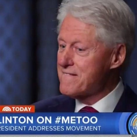 BILL TOO? Clinton Says He DOESN'T Owe Monica Lewinsky an Apology