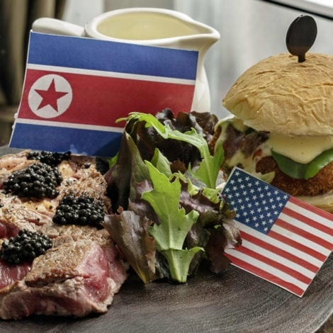 DELICIOUS DIPLOMACY: Singapore Restaurants Release SUMMIT Themed Specials
