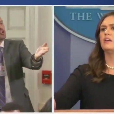 EXPLOSIVE EXCHANGE: Huckabee Sanders SCORCHES Reporter over Immigration