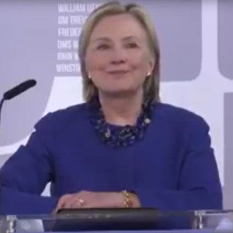 HILLARY GOES GLOBAL: Clinton Slams US ELECTION SYSTEM in England