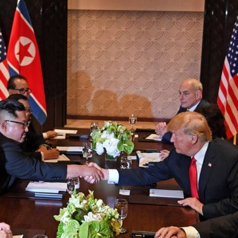 HISTORIC HUDDLE: US and North Korean Officials Hold EXPANDED Meetings in Singapore