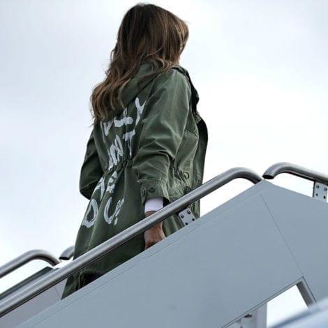 SHAMELESS: Media Attacks Melania Trump's 'JACKET CHOICE' During Texas Trip