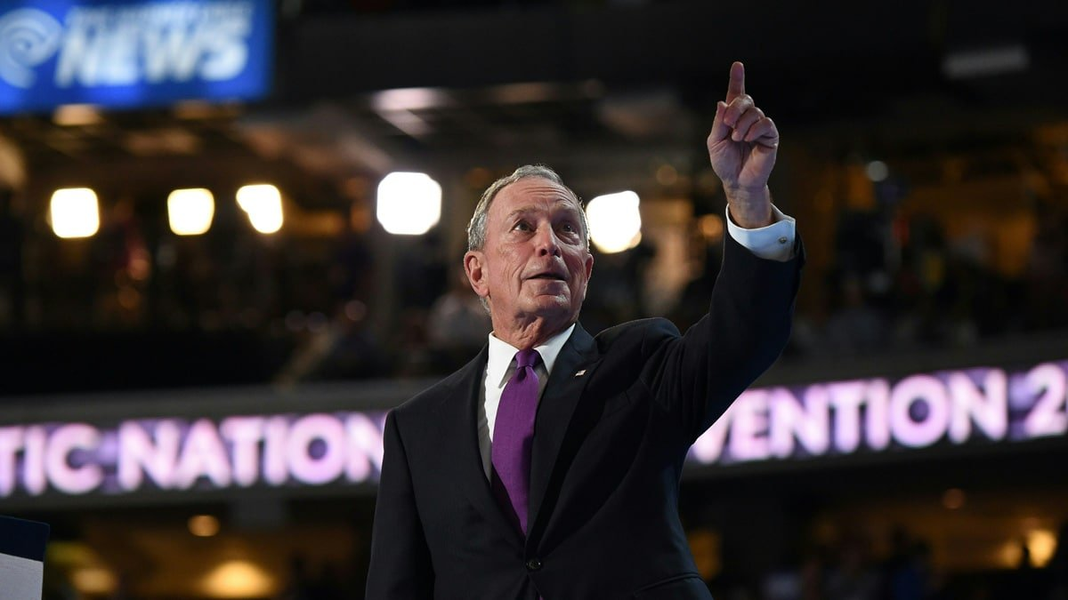 Partner Content - MIKE PASSES PETE: Billionaire Mike Bloomberg Passes Pete Buttigieg in Ne...