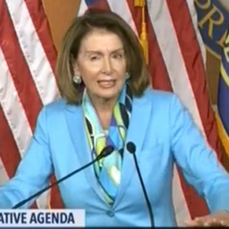 PELOSI'S PROTEST: Nancy Slams Use of Term 'Illegal Aliens,' Prefers 'Newcomers'