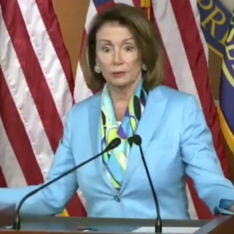 NANCY GOES NUCLEAR: Pelosi Wonders Why There Aren't Anti-Trump 'UPRISINGS' Across US