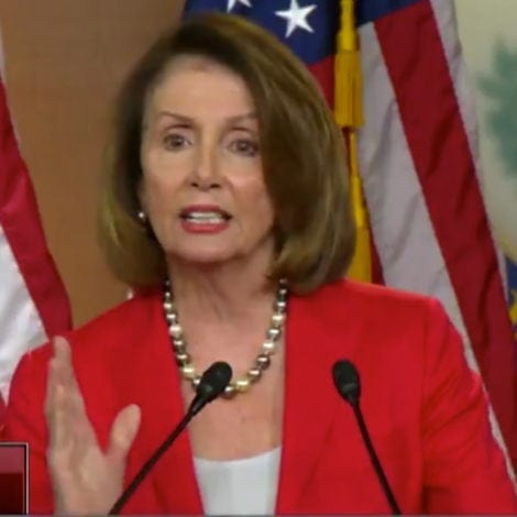 NANCY'S NIGHTMARE: Pelosi Mocks Low Unemployment, Says 'Hip Hip Hooray' for US Workers