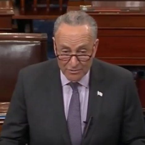 SCHUMER MELTDOWN: Chuck Tells Trump 'You're Not a King' so 'ACT LIKE IT'