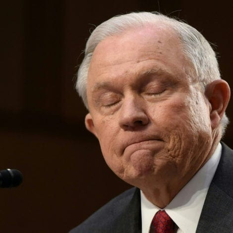 SESSIONS SCOLDED: Trump Blames the Attorney General for 'Russian Witch Hunt'