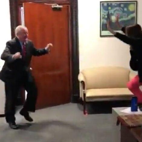 SANCTUARY SHUFFLE: Philly Mayor DANCES to Celebrate 'Sanctuary City' Ruling