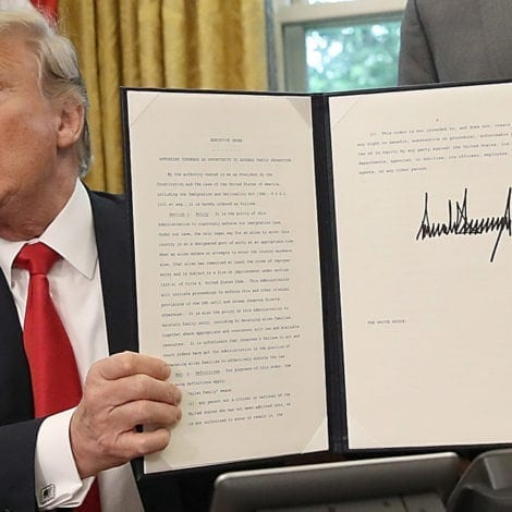 THE ORDER: Read the Full Text of President Trump's Executive Order on 'Family Separations'
