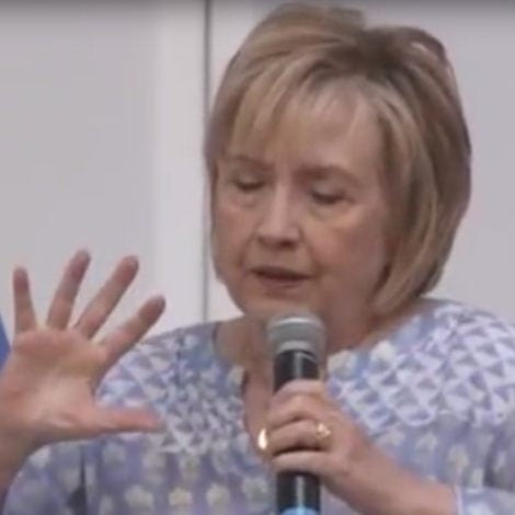 LOSING STEAM? Hillary Says She's 'EXHAUSTED' Resisting Trump