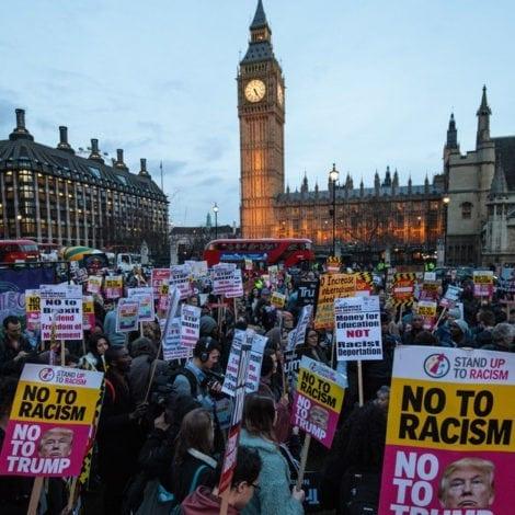 LONDON FALLING: US Embassy Warns Americans of 'VIOLENT' PROTESTS During Trump Visit