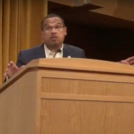 ELLISON UNHINGED: DNC Deputy Says Dems Could 'THEORETICALLY IMPEACH' Judges