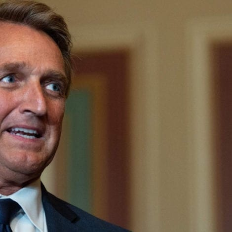 FLAKE GOES ROGUE: One GOP SENATOR Sides with Democrats on Trump Translator Testimony
