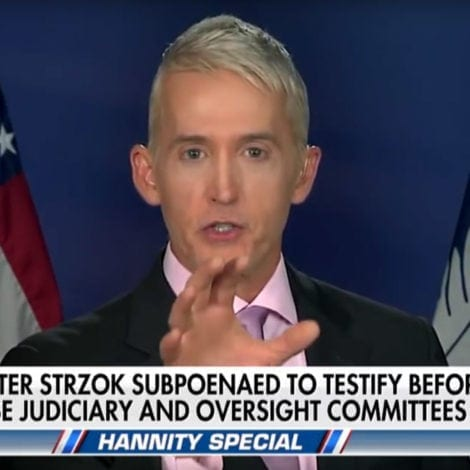 TREY UNCHAINED: Gowdy TRASHES 'Terrible' Adam Schiff Over Russia Probe