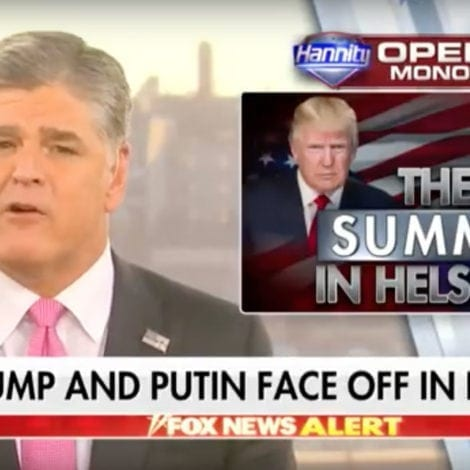 HANNITY IN HELSINKI: The Left Can't Keep Up With the 'Speed of Trump'