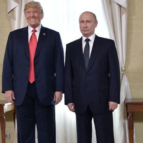 HELSINKI HUDDLE: Trump and Putin Meet Face-to-Face in Historic Summit