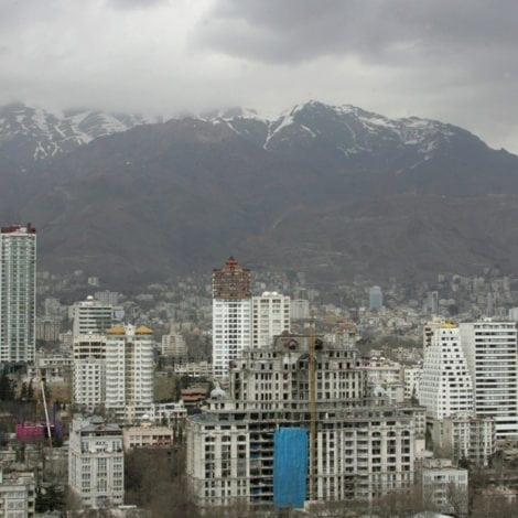 IRAN ON EDGE: Tehran Accuses Israel of 'CLOUD THEFT' to 'Steal Water' from Iran