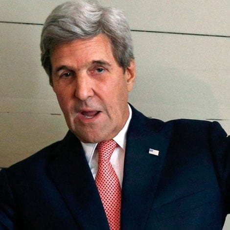 DEEP STATE DEPT: Kerry Returns to SLAM 'DISGRACEFUL' Trump at NATO