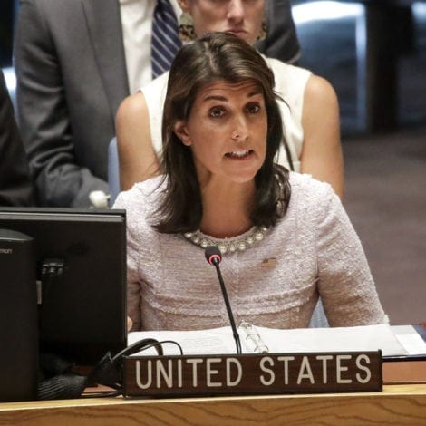 HALEY ON FIRE: US Ambassador TORCHES UN Over Palestinian Turmoil