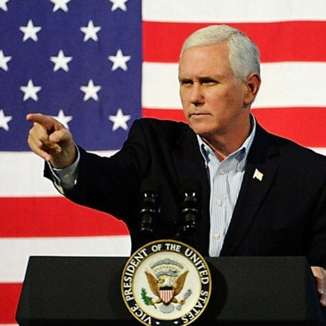 VICE BACKS ICE: Mike Pence Says White House '100 PERCENT' Behind ICE