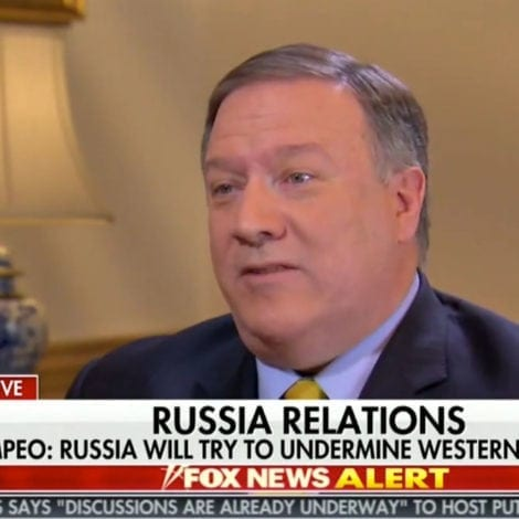 MIKE POMPEO: Russians Have Been UNDERMINING Western Elections for DECADES