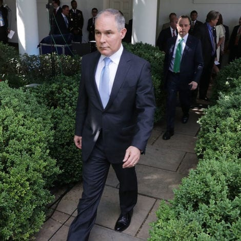 BREAKING: Scott Pruitt OUT at EPA