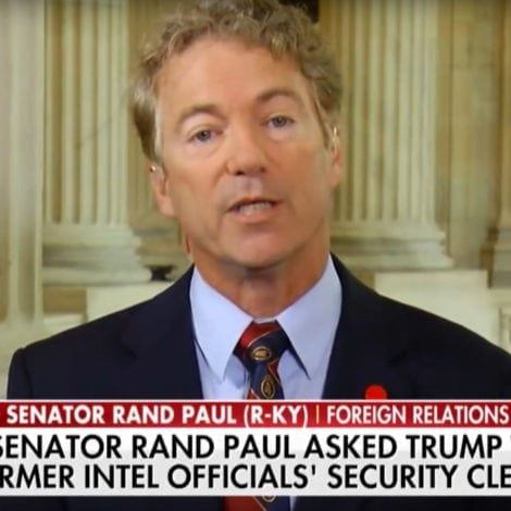 RAND'S STAND: Paul RIPS Brennan, Says He Should be STRIPPED of Security Clearance