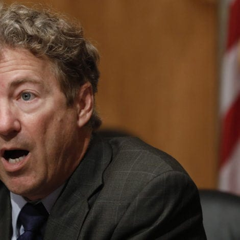 RAND RATTLED: Man Arrested for Threatening to Kill Sen. Paul, His Family with AN AX