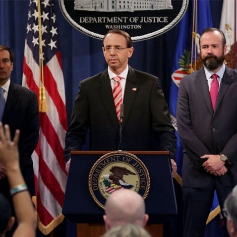 BREAKING: Rosenstein Indicts 12 RUSSIAN AGENTS for 'Hacking' 2016 Election