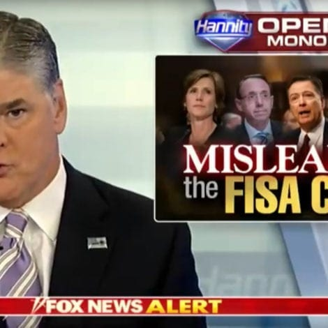 HANNITY: It's Time to Release ALL 589 PAGES of FISA Documents