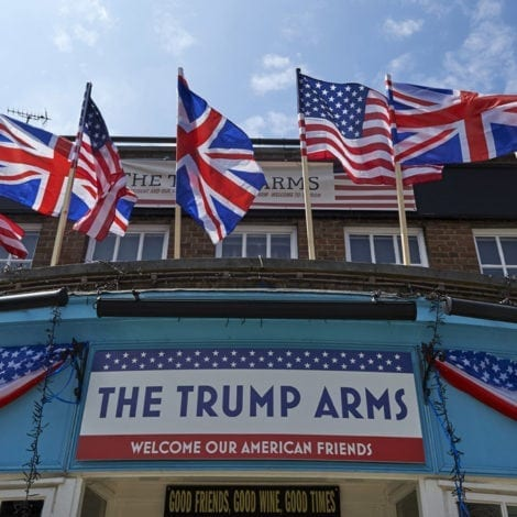 TRUMP TAKES UK: The President TOUCHES DOWN in LONDON for 2 Day Visit