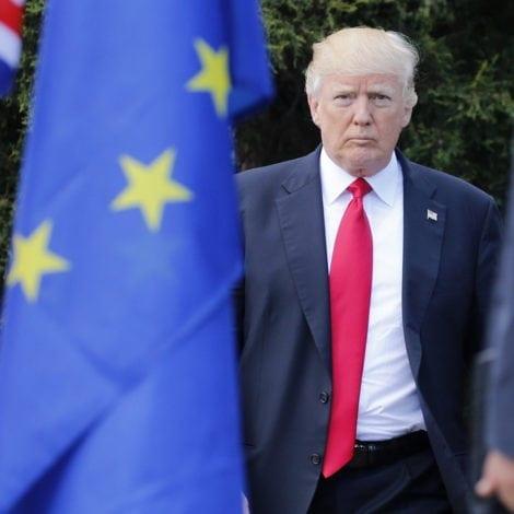 NO THANK EU: The President RIPS E.U. TARIFFS as he Departs for Europe