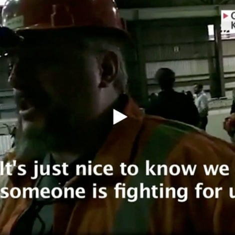 'WE'RE BACK': Steelworker Brought to TEARS While Discussing President Trump