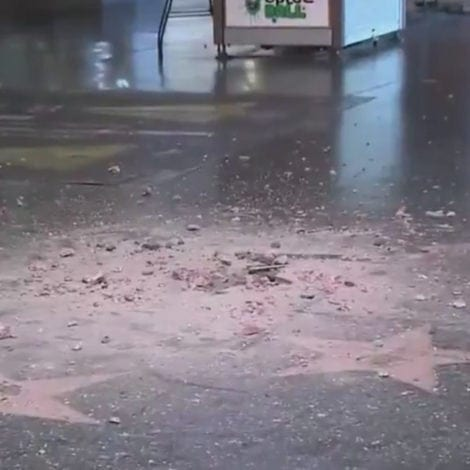 LIBERAL RAGE: Donald Trump's 'HOLLYWOOD STAR' Destroyed with Pickaxe