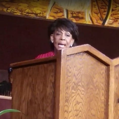HEAVEN SENT: Maxine Waters Says 'GOD SENT ME' to Take Down Trump