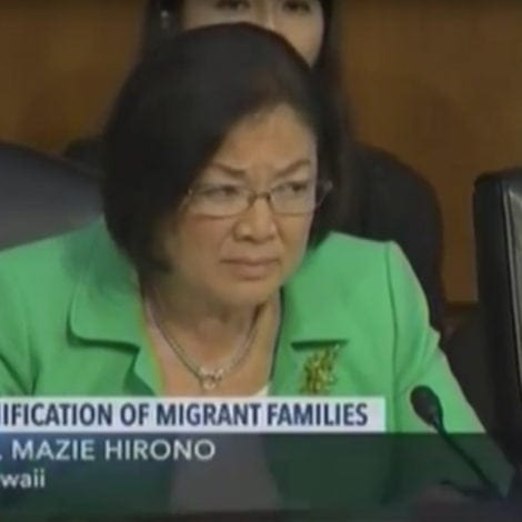 LIBERAL LOGIC: ICE Official Explains to Dem Senator that Illegal Immigrants COMMITTED A CRIME