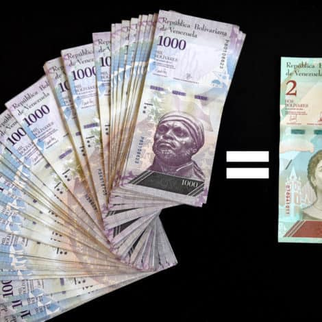 TOTAL DISASTER: Venezuela's Bank Issues PHONE APP to Help Residents Convert to New Currency
