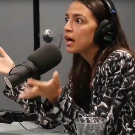 CLASS WARFARE: Ocasio-Cortez Says American Society Divided by 'TOP VS DOWN'