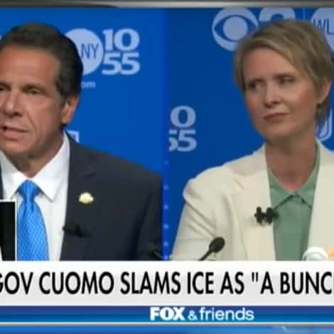 NASTY IN NY: Cuomo Calls ICE Agents 'THUGS,' Vows to SUE Trump Administration