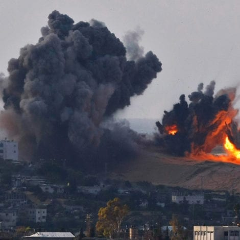 MIDEAST ON EDGE: US State Dept. BACKS ISRAEL After Gaza Rocket Attack