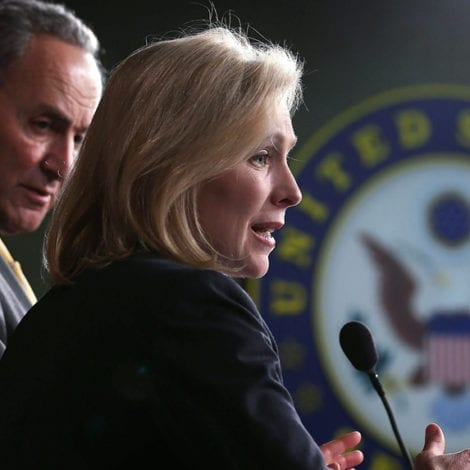 GILLIBRAND GOES OFF: NY Senator Slams Trump for 'NOT ACKNOWLEDGING' Her Hard Work