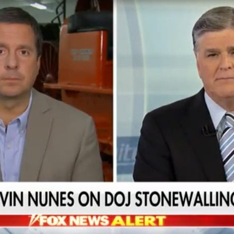 THE SMOKING GUN? Nunes Says Obama's FBI Withheld 'EXCULPATORY EVIDENCE' In FISA Application
