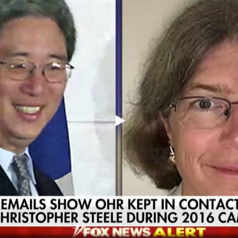 STEELE NERVES: Bruce Ohr and Christopher Steele TERRIFIED Over Comey Firing, Feared 'EXPOSURE'